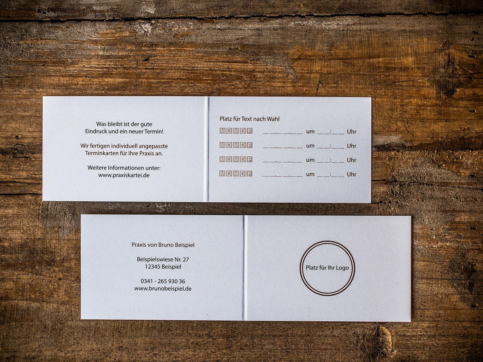 Terminkarten individual